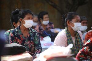 Cambogia Distribuzione di pacchi alimentari nellaprovincia di KampongThom